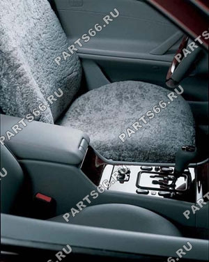 Head restraint cover, front, single, Sheepskin covers